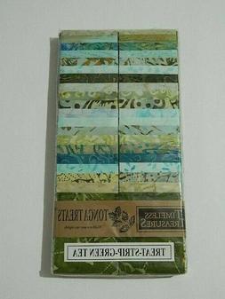 tonga treats strips green tea pack 40