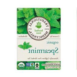 Traditional Medicinals Organic Spearmint herbal tea, Fair Tr