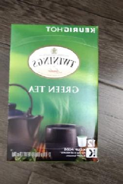 Twining Green Tea 12 Count Kcup pods NEW! Free & Fast Shippi