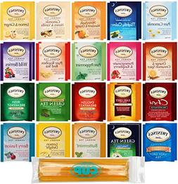 Twinings Hebal Decaf Tea Bag Sampler 40 Count With 10 By The