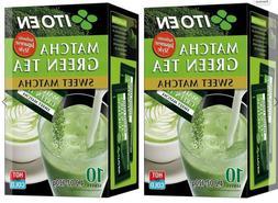 Two Boxes of Ito En Match Green Tea Sweet Matcha 4.2 oz x 2