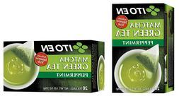 Two Boxes of Ito En Matcha Peppermint Green Tea  20 Tea bag