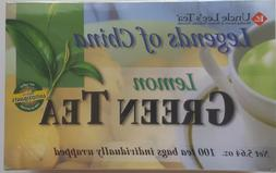 Uncle Lee's Legends of China Lemon Green Tea    100 tea bags