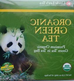 Uncle Lee's Organic Green Tea    40 tea bags