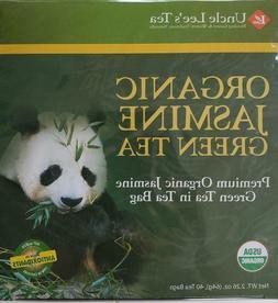 Uncle Lee's Organic Jasmine Green Tea    40 tea bags