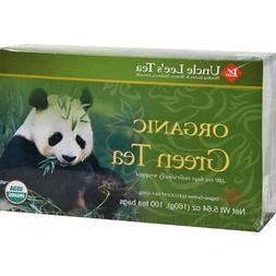 Uncle Lee's Tea- Organic Green Tea 100 teabags