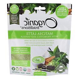 ORGANIC TRADITIONS Organic Vanilla Probiotic Matcha Latte, 1