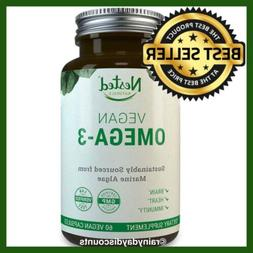 VEGAN Omega 3 With DHA & EPA | Plus Green Tea Antioxidant |