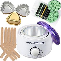 ZDU Wax Warmer Electric Waxing Kit Hair Waxer Heater 15 oz W