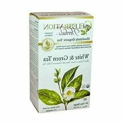 CELEBRATION HERBALS White & Green Tea Organic 24 Bag, 0.02 P