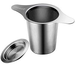 Yoassi Extra Fine FDA Approved 8/18 Stainless Steel Tea Infu