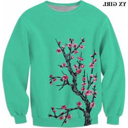YX GIRL 2018 autumn New Fashion Mens 3d sweatshirt <font><b>